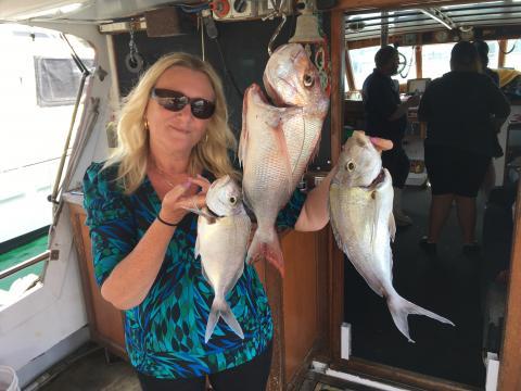 FISHING PHOTOS WEEKENDING 12TH NOV 2017